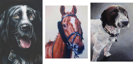 animal portrait examples